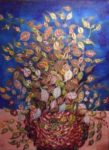 Le Bouquet de feuilles, vers 1929-1930, huile sur toile, 81 x 61 cm