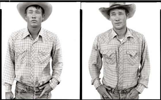 "Richard Avedon, série ""In the American West"" : Richard Wheatcroft, Rancher, Jordan (Montana), 19 juin 1981 et 27 juin 1983"