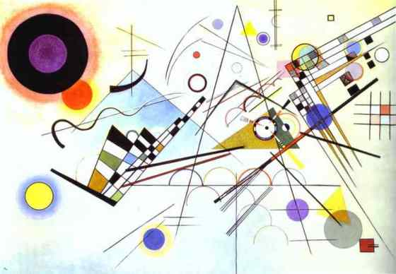 Komposition VIII (Composition VIII), 1923