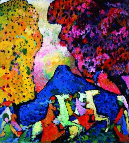 La Montagne Bleue, 1908-09, © ADAGP Paris, 2009