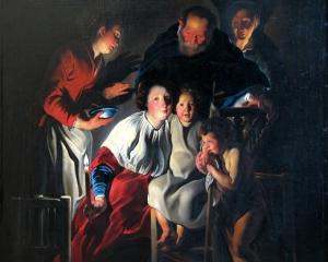 Jacob Jordaens, La Sainte Famille