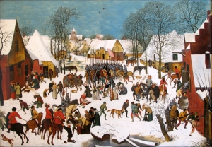 Pieter Brueghel, Le Massacre des Innocents