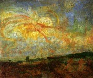 1887 Adam et Eve chasses du Paradis ou Etude de Lumiere
