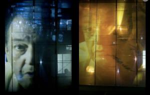 Mise en scène vidéo (Source : site web du Théâtre de la Ville)