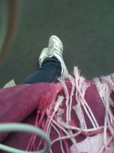Mes pieds à la FIAC !