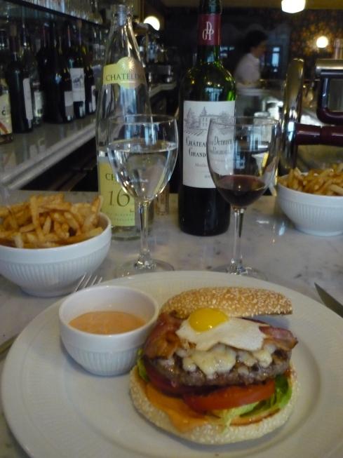 Le burger de l'Aubrac