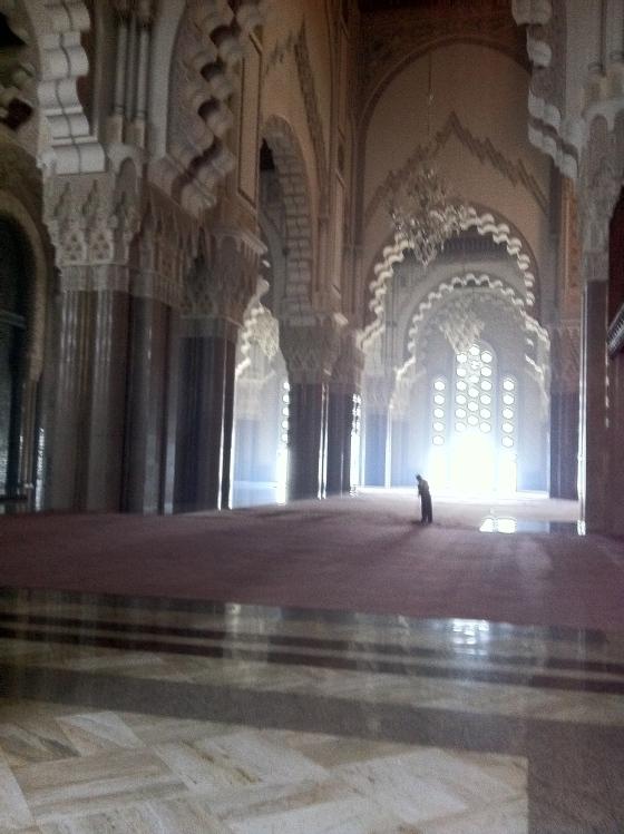 P riple au maroc casablanca rabat mekn s et f s for Mosquee hassan 2 interieur