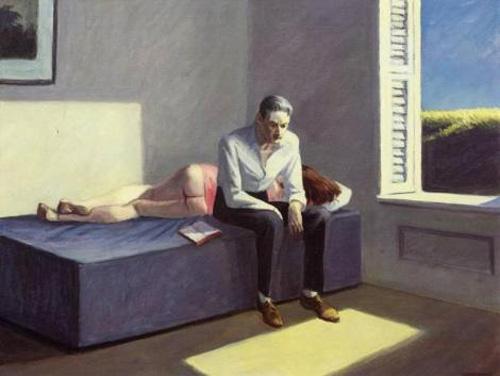 Edward Hopper, Excursion into Philosophy, 1959 © collection particulière