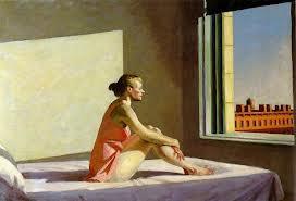 Edward Hopper: Morning Sun, 1952. Crédits photo : © Columbus Museum of Art, Ohio