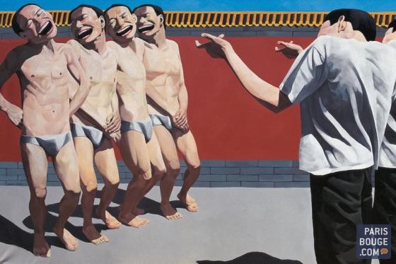 The execution1995 Huile sur toile 150 x 300 cm collection privée