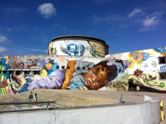 Graffitis à Séville