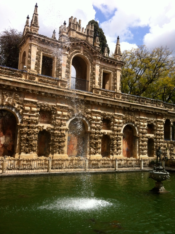 Jardins du Real Alcazar à Séville