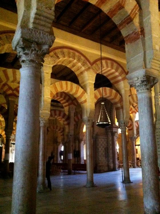 Mosquée/cathédrale de Cordoue - Intérieur