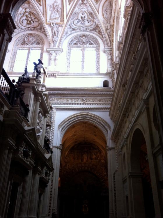 Intérieur de la Grande Mosquée/Cathédrale ) partie chrétienne