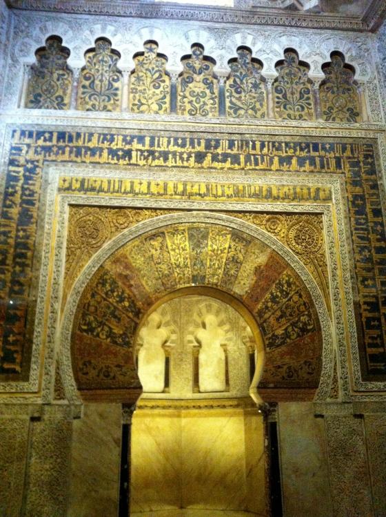 La Mihrab de la Grande Mosquée de Cordoue