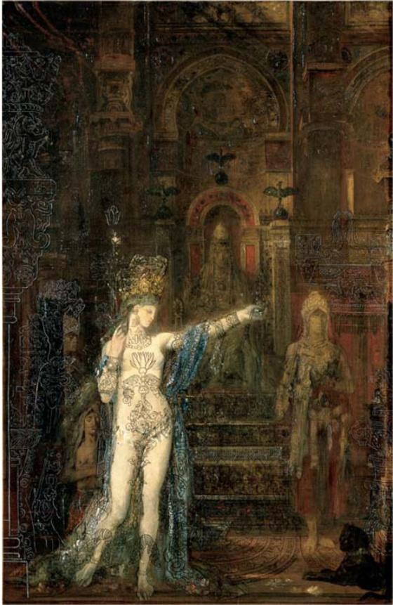 Gustave MOREAU Salome tatouee, Gustave Moreau © RMN - R.G. Ojeda