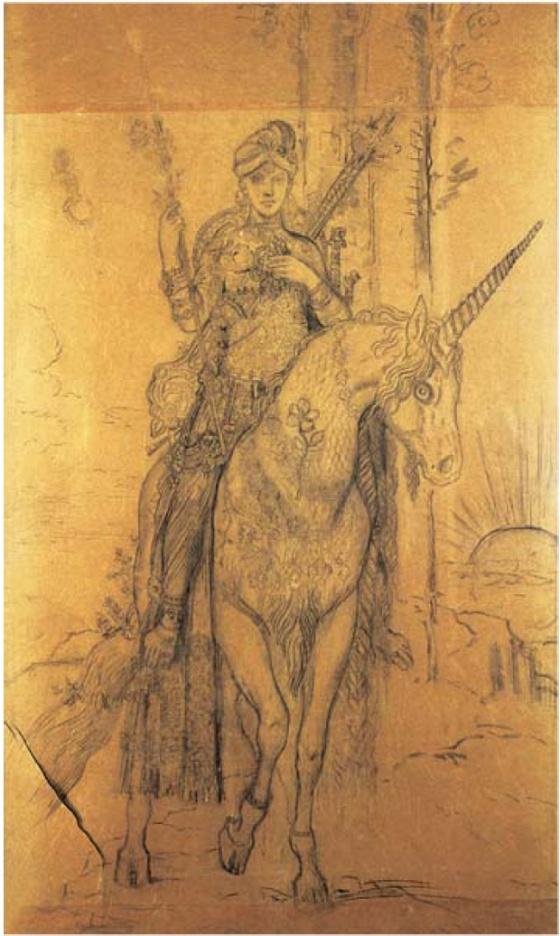 Gustave MOREAU Poete persan © RMN - R.G. Ojeda