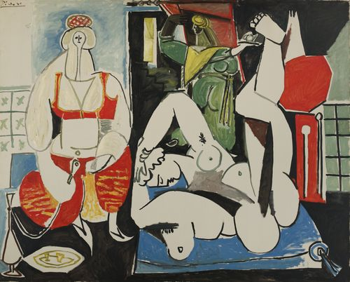 Pablo Picasso - Les femmes d'Alger (version H), 1955. Collection Ezra et David Nahmad. DR © Succession Picasso 2013