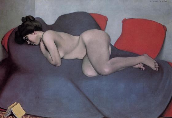Sieste, 1908, huile sur toile.