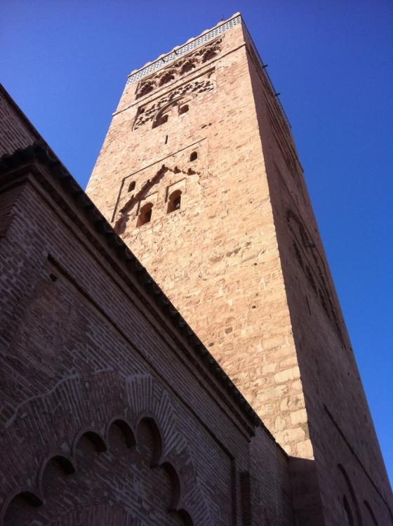 La mosquée La Koutoubia