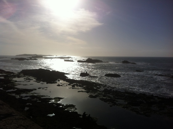 Vue de la mer à Essaouira