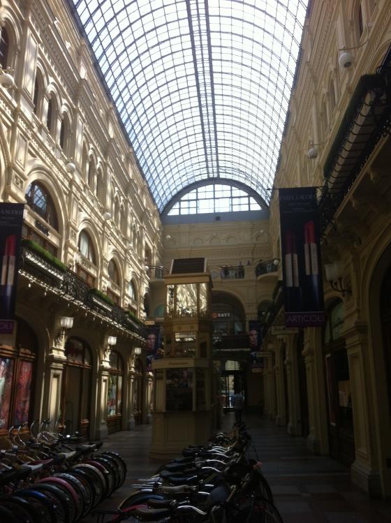 Le Goum, Moscou
