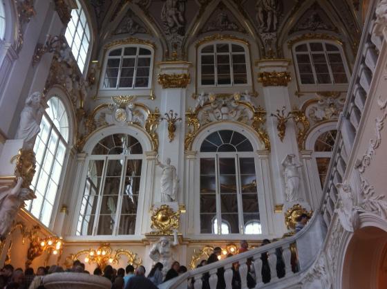 L'Ermitage, escalier du Jourdain