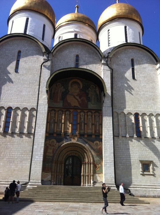 Cathédrale de l'Assomption, Kremlin, Moscou