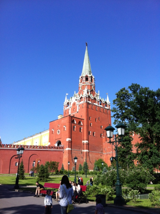 Remparts du Kremlin, Moscou
